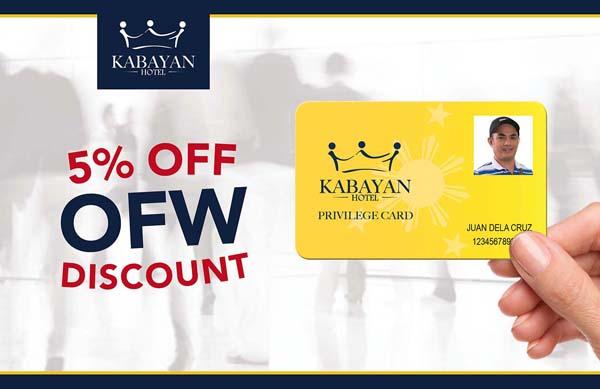 5% OFW Discount