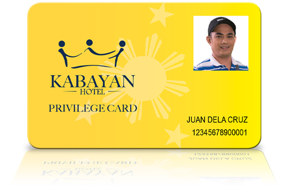 Dining Room Privilege Card