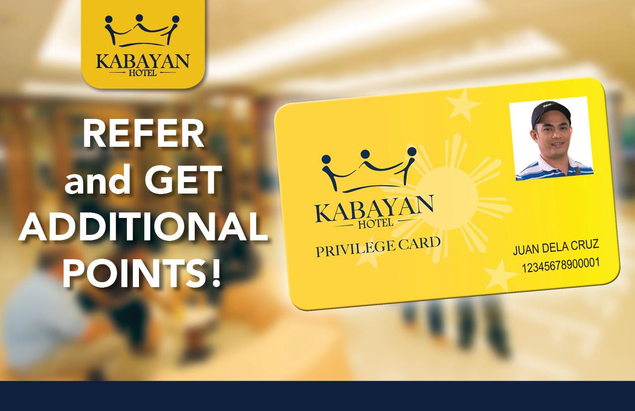 Kabayan Hotel Privilege Card