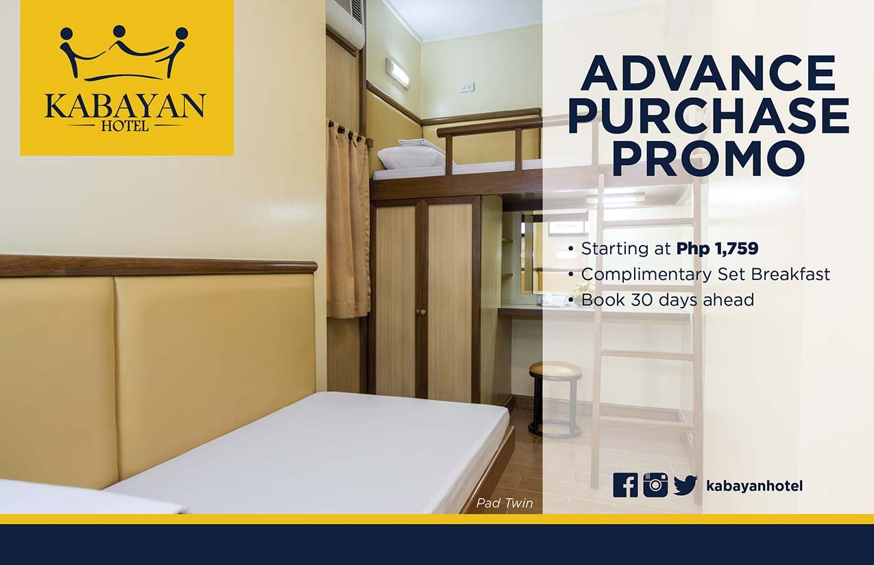 Kabayan Hotel Pasay Rates