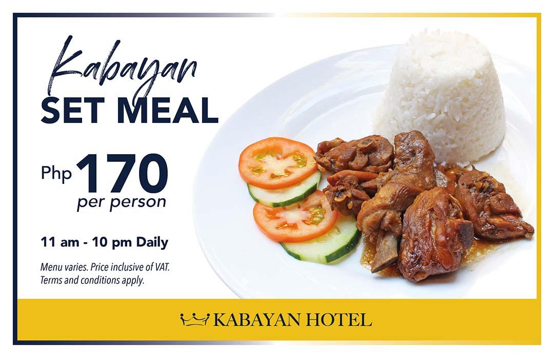 Affordable Set Meals