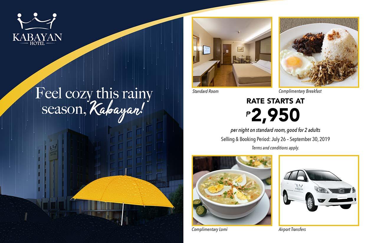 Rainy Day Promo