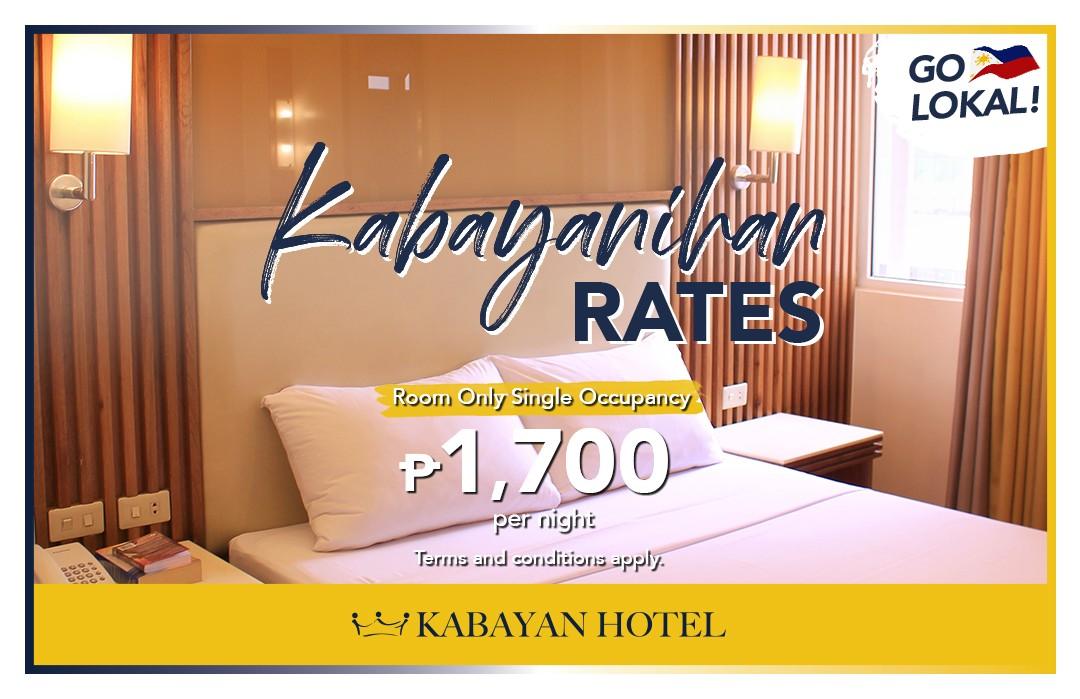 Kabayanihan rates package