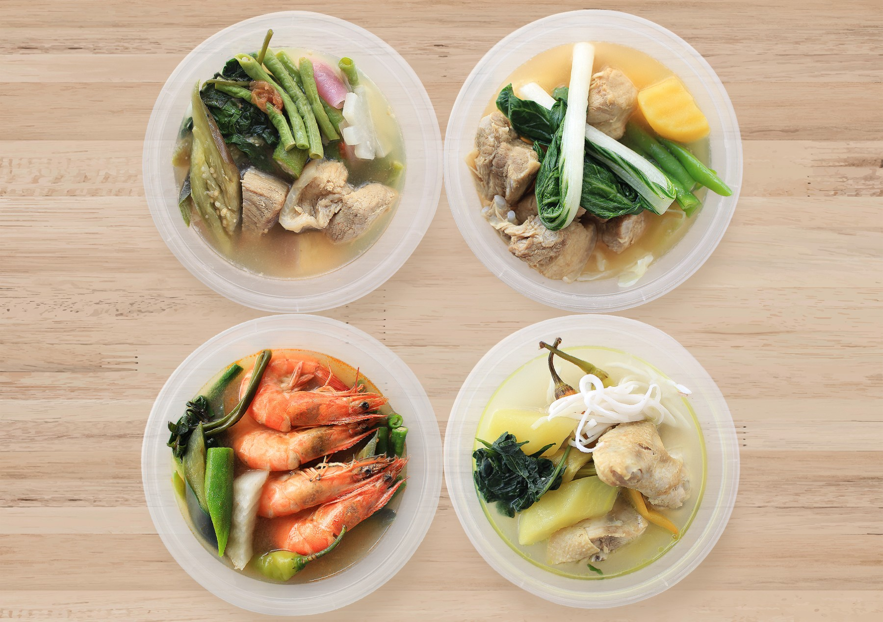 Kabayan Hotel Food To Go platters